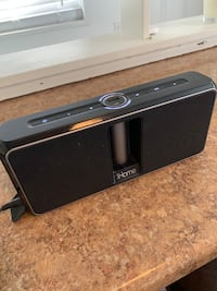 iHome Bluetooth speaker with removable portable battery