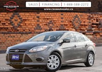 2014 Ford Focus | One Owner | No Accidents | Certified Toronto