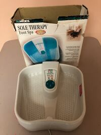 Homedics Massaging Foot Spa Sole Therapy with Heat Foot Bath.