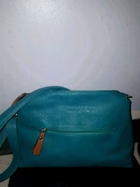 Teal leather purse Kingston, K7L 5C9