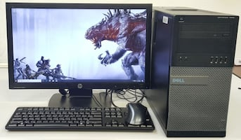 Dell i7-3770 Gaming Tower 16GB RAM with GTX 1050Ti