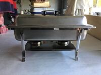 3 stainless chafing dishes  Los Angeles, 91403