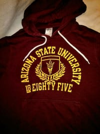 ASU SUNDEVILS athletic hoodie size sm or youth 2xl Glendale, 85304