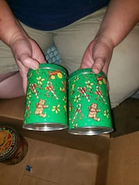 candy and cookies tins.  Hagerstown, 21740