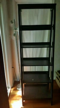 black wooden 5-layer shelf Hyattsville, 20782
