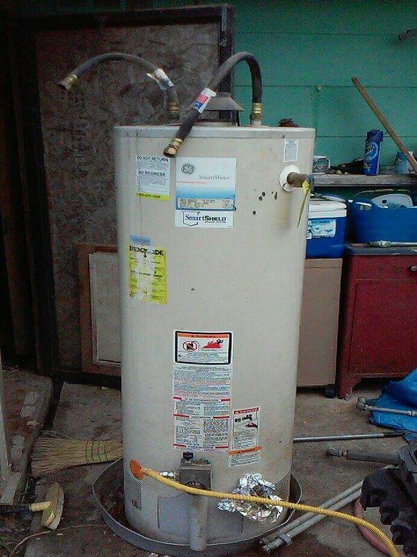Used Gas 40 Gallon Hot Water Heater For Sale In Arlington