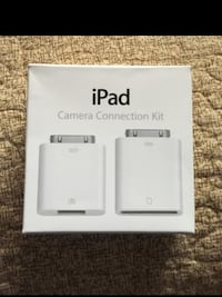 Apple IPad camera connection kit !