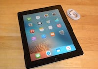 "Apple iPad 4th Gen Retina 128GB, Wi-Fi 9.7"" - Black  (MD514LL/A) Silver Spring, 20910"