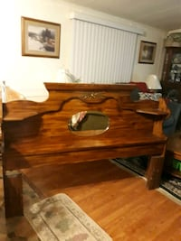 Head board, two dressers, and night stand, and bed frame Bel Air, 21014