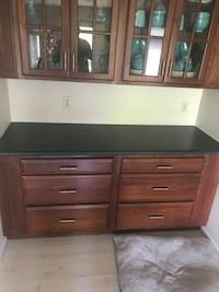 Countertops only, corian , very expensive also very heavy, 11 feet by 4 feet and 6 feet by 2 feet Roca, 68430