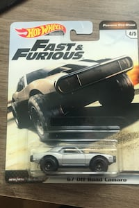Fast and Furious Hot Wheels Premium Real Riders