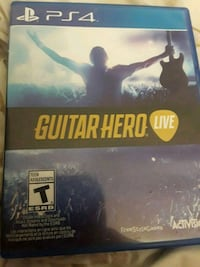 Ps4 Guitar Hero Live game Palmdale, 93552