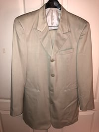 Tan men's suit (Zendello) Jacket and pants  Clinton