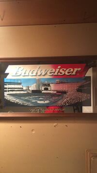budweiser  FIRST  CAMDEN PITCH  mirror Waldorf, 20602