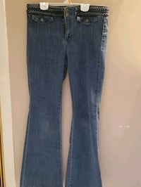 High waisted flare jeans. Size 8. Chantilly, 20151