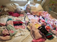 Baby's assorted clothes newborn to 9 months EUC Port Coquitlam, V3B 1S3