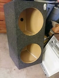 black and brown subwoofer enclosure Richmond