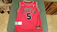 Chicago Bulls Boozer youth sz med jersey