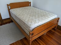 Full Size Mattress and Box Spring - FREE