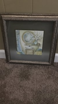 Bed bath and beyond bathroom wall decor    (Size 14x14 inc) Memphis, 38119