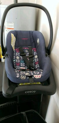 baby's blue and pink car seat carrier Richmond, 23237