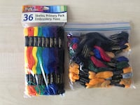 Embroidery Floss: Pack of 36 + 22!  Manassas