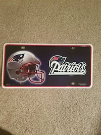 New England Patriots Plate Herndon, 20171