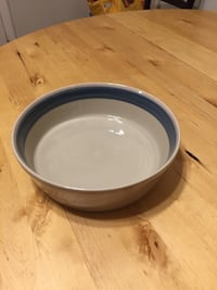 "Mikasa Discovery Blue Thunder-9"" Round Vegetable Bowl Gaithersburg, 20878"