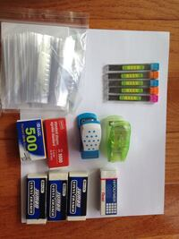 Staples erasers 0.5mm HB inserts