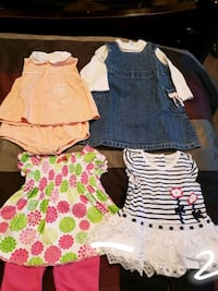 Baby girl's clothes, 6-9 months, lot 02 Riverview, 33569
