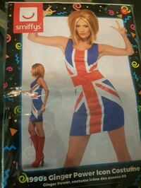 Ginger spice iconic costume. Never been used.  Surrey, V4N 5V2