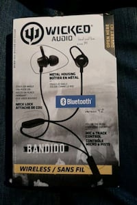 Wicked audio bluetooth