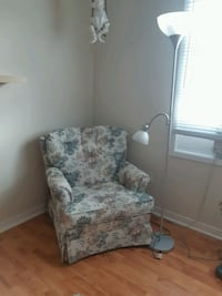 chair and floor lamp