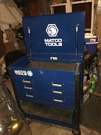 blue and gray Matco Tools tool cabinet Bloomington, 55438