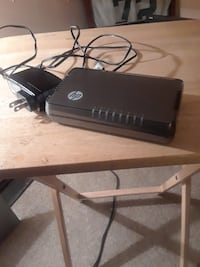 black HP 8 port ethernet switch New Castle