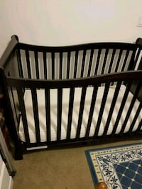 baby's brown wooden crib Mount Clare, 26408