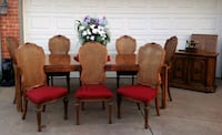 Formal Dinning Set with 8 Chairs and Buffet Bernhardt  Yukon, 73099