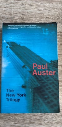 The New York Trilogy av Paul Auster bok Stavanger, 4034