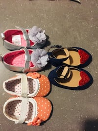 0-3 months shoes for baby girl