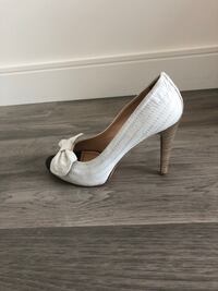 Miss Sixty White Open Toe Shoes - Size 9 Laval, H7T