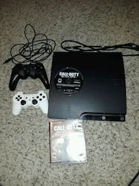 Ps3 with 2 controllers, black ops2, black ops3  Bakersfield, 93308