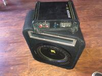 Kicker amp and 10 inch sub Salinas, 93901