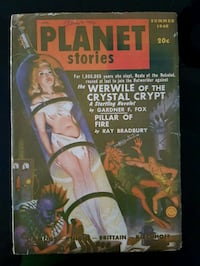 Planet Stories The Werwile of the crystal Crypt book 560 km