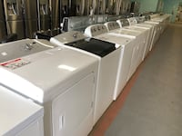 Top load washer and dryer set 15% off