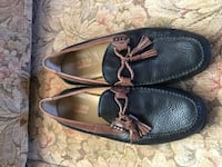 Brass boot Pair of black leather boat shoes Oklahoma City