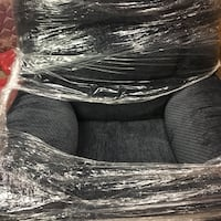 black and Gray Brand new recliner never been used Raleigh, 27607