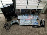 PS3 with games and accessories  Coventry, 02816