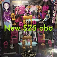 Monster high 13 wishes party lounge  Lomita, 90717
