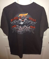 Sturgis Motorcycle Rally 75th Anniversary T shirt Size Large London