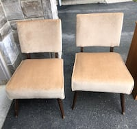 Accent chairs $40 for the set